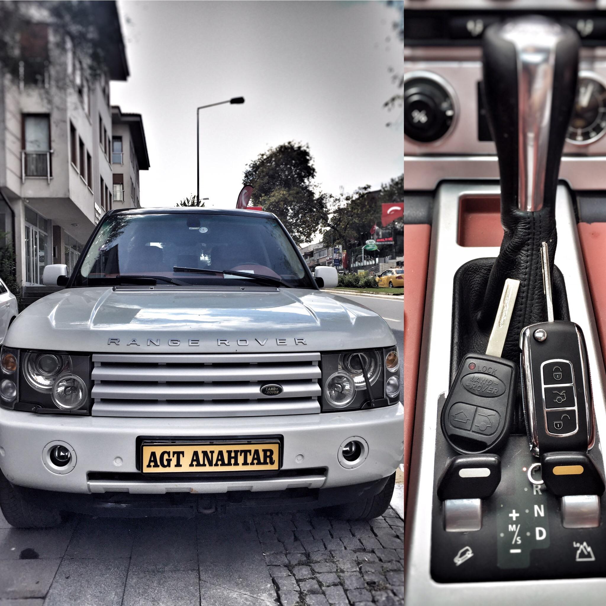 range rover anahtar