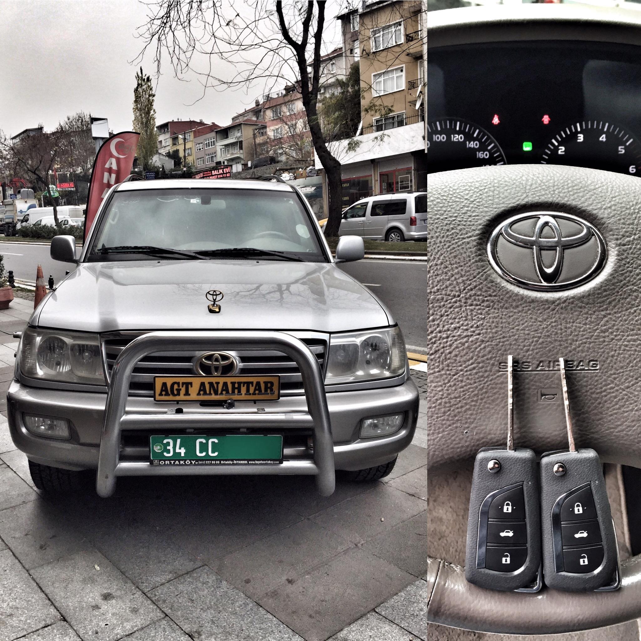 Toyota Land Cruiser Anahtarı